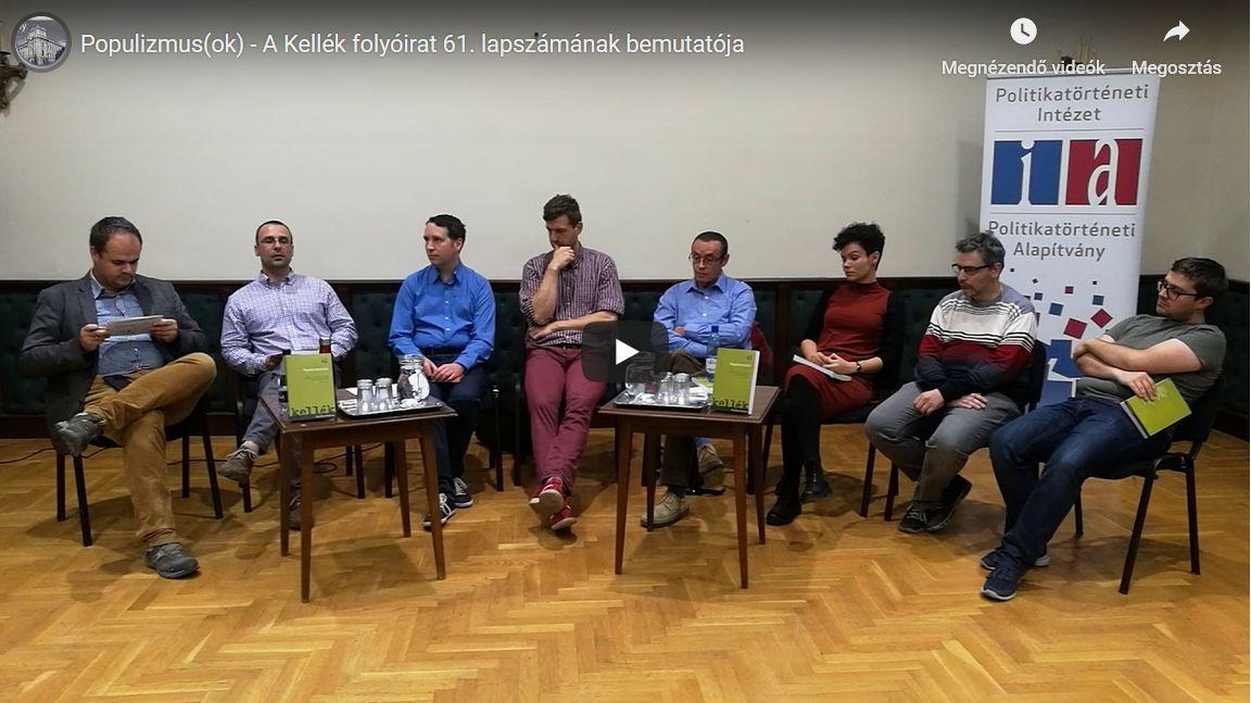Lapszámbemutató a Kellék című folyóirat populizmus(ok) számához – videóval